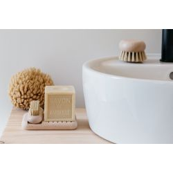Porte savon - Tradition - Bois de hêtre - Nourri à la cire d'abeille