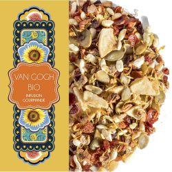 Sachet 100G - Infusion gourmande Figue caramel - Van gogh - Bio
