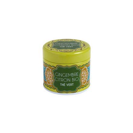 Boîte à thé en métal - Gingembre Citron - Bio