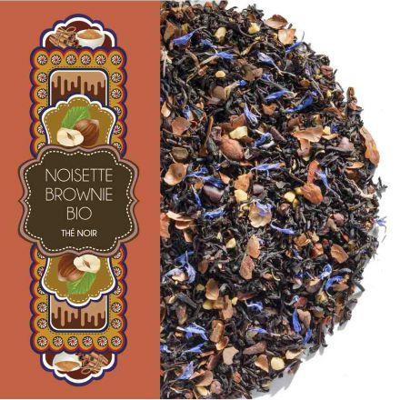 Sachet 100 g - Thé noir - Noisette brownie - Bio