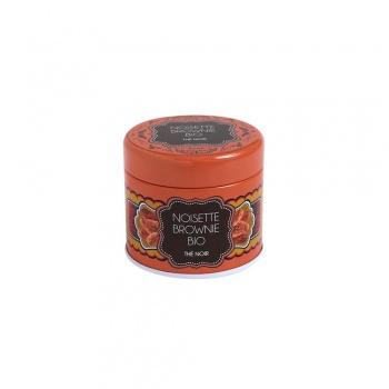 Boîte à thé en métal - Thé noir - Noisette Brownie - Bio