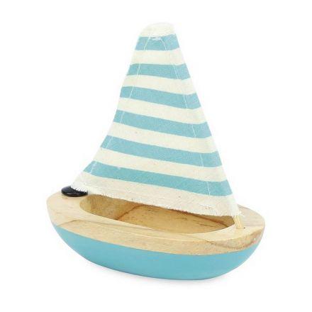 Petit voilier de bain bleu Vilac