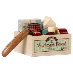 Set vintage - Courses dans la caisse