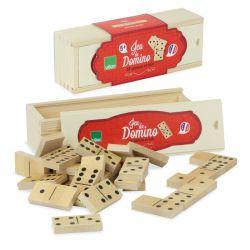 Jeu de domino en bois