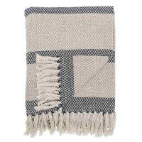 Plaid Bloomingville coton 160 x 130 cm