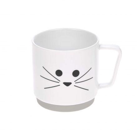 Tasse S en porcelaine - Chat