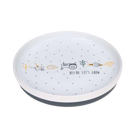 Assiette en porcelaine - Garden explorer - Garçons