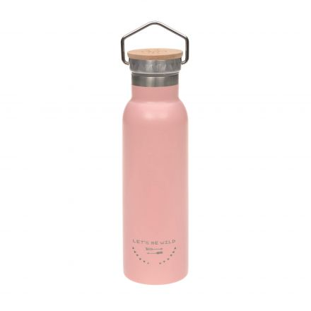 Bouteille Thermos rose 460ml Adventure - Lassig