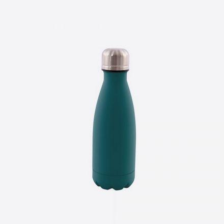 Bouteille isotherme Point virgule - Double paroi en inox - Vert - 350 ml
