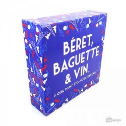 Béret baguette et vin