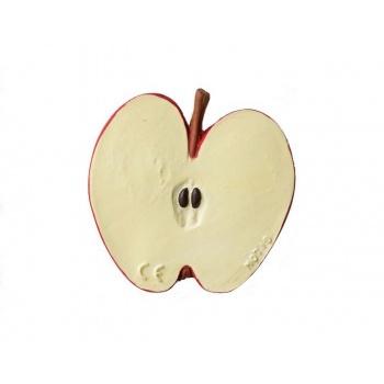 Bracelet en latex d'hévéa - Anneau de dentition - Pepita la pomme - Oli & Carol