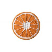Bracelet en latex d'hévéa - Anneau de dentition - Clementino l'orange - Oli & Carol