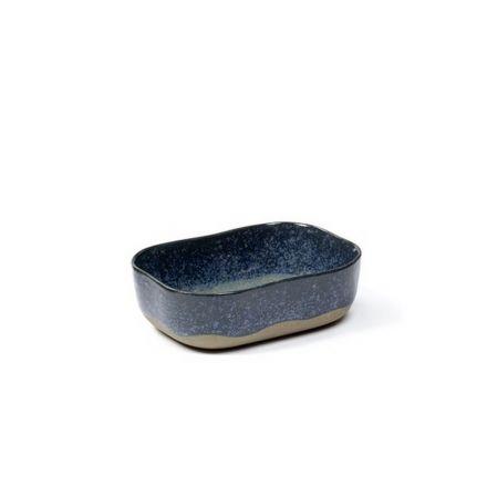 Ramequin rectangulaire 14,5 x 10,5 cm Serax Merci n°6 bleu/gris
