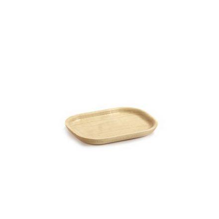 Mini plateau en bois d'Erable Merci n°3