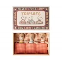 Souris triplets - Boite allumettes - Maileg