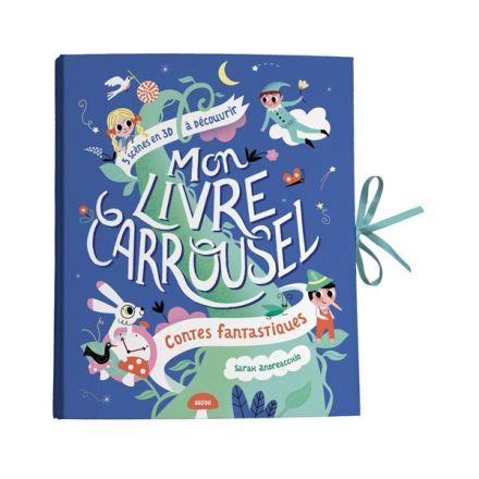 Livre - Mon livre carrousel - Contes fantastiques