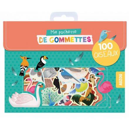 100 Gommettes oiseaux