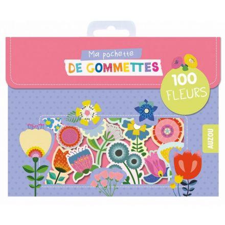 100 Gommettes Fleurs