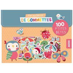 100 Gommettes Les petites bêtes