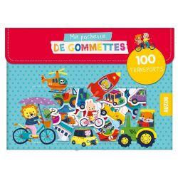 100 Gommettes Les transports