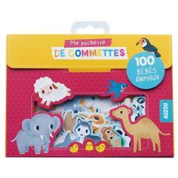 100 Gommettes Les bébés animaux