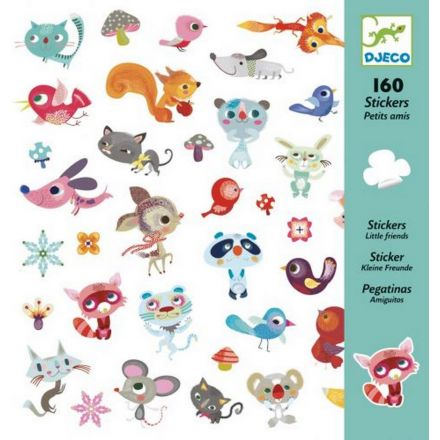 160 stickers Petits Amis Djeco