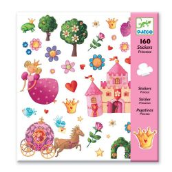 160 Stickers princesse Djeco