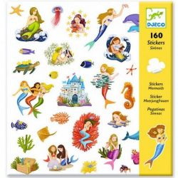 160 stickers sirènes