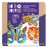 8 masques mosaïques à décorer