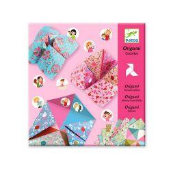 Origami cocottes à gages fleurs