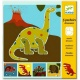 5 Pochoirs Dinosaures