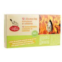 Boîte de 12 allumes feu écologiques