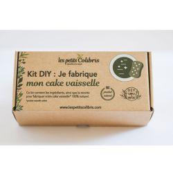 Kit DIY - Je fabrique mon cake vaisselle - Sans huile essentielle