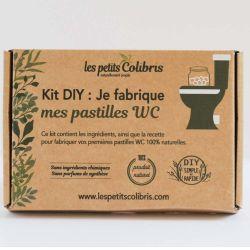Kit DIY - Je fabrique mes pastilles WC - Avec huile essentielle