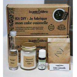 Kit DIY - Je fabrique mon cake vaisselle - Avec huile essentielle