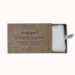Gant démaquillant - Coton biologique - A l'eau uniquement