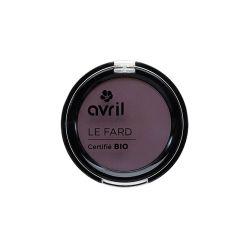 fard à paupières Prune irisé bio - Avril