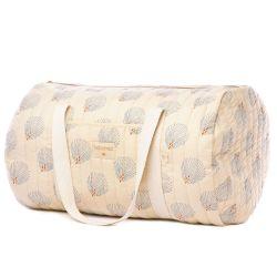 Sac de week-end - New York Nobodinoz Crème - 30 x 45 x 30 cm