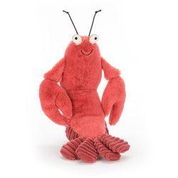 Peluche Jellycat - Larry le homard 20 cm - Petite taille
