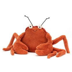 Peluche Jellycat - Crabe Crispin - Petite taille