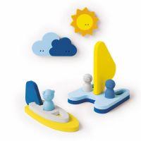 Puzzle de bain + marionnettes - Mettre les voiles