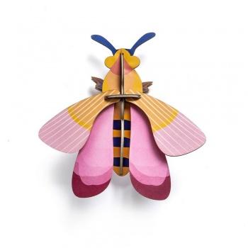 Insecte en 3D - Abeille rose - Studio Roof