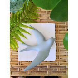 Hirondelle - Volage céramique - Gris vert