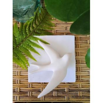Hirondelle - Volage céramique - Blanc