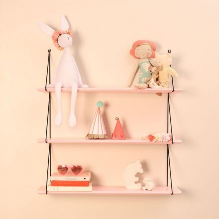 Etagere babou 3 - Rose clair Rose in April