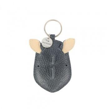 Médaillon - Porte-clés wookie en cuir - Donsje - Rhino