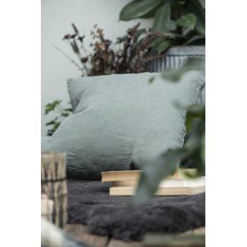 Coussin carré - Vert craie 50 x 50 cm