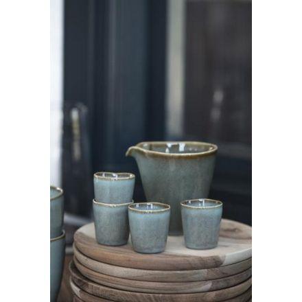 Verseur en céramique - Bleu dunes
