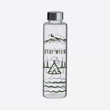 Bouteille en verre - Stay Wild - 600 ml