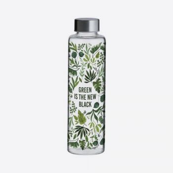 Bouteille en verre - Green is the new back - 600 ml